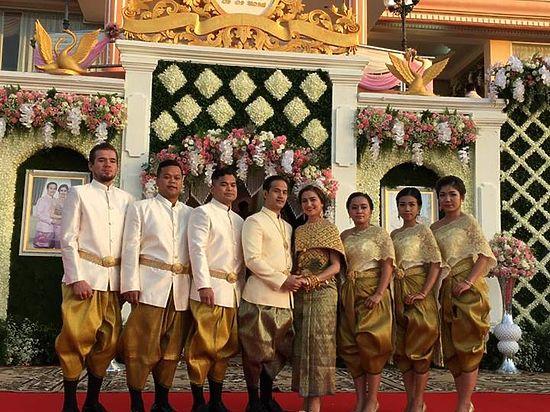 Якутянка вышла замуж за камбоджийца